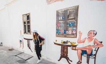 ย้อนเวลาสู่อดีตกับ Street Art ย่านเมืองเก่าสงขลา