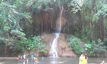 """เปิดประสบการณ์ใหม่แห่งการท่องเที่ยว """"น้ำตกภูซาง """" น้ำตกอุ่นแห่งเดียวของไทย"""