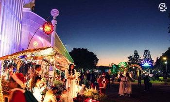 ชมภาพบรรยากาศงาน Carnival ไทยแลนด์ เทศกาลแห่ดาว สกลนคร