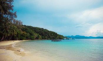 """สวรรค์กลางทะเล """"เกาะหวาย"""" หาดสวยน้ำใสใกล้กรุงเทพ"""