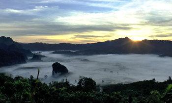 ทะเลหมอกภูลังกา หนึ่งในจุดชมวิวที่สวยที่สุดในเมืองไทย