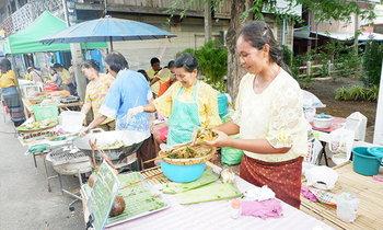 ตลาดโรงพักเก่าสรรพยา Local Market ชัยนาท