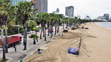 Pattaya New look ปรับโฉมใหม่ภูมิทัศน์ชายหาดพัทยา เตรียมรองรับการท่องเที่ยว