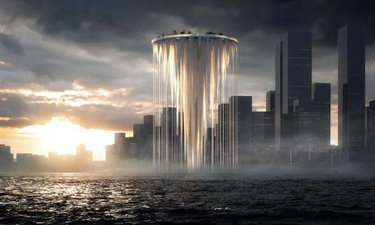 เซินเจิ้น เผยแผนสร้างแลนด์มาร์คแห่งใหม่ ตึกกลางน้ำรูปทรงเหมือนหลุดมาจากโลกอนาคต!
