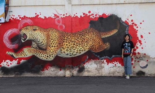 Street Art พิษณุโลก มุมถ่ายรูปใหม่สุดชิค เปิดมิติใหม่ให้กับเมืองสองแคว