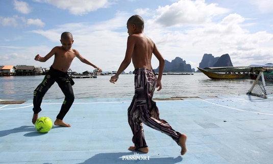 เกาะปันหยี วิถีนักเตะชาวเกาะ