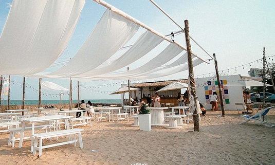 Tumlay Café & Bar คาเฟ่น่ารัก รับหน้าร้อน นอนริมทะเล @ชะอำ