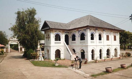 สถาปัตยกรรมวัดศรีชมชื่น อายุกว่า 100 ปี อันซีนศิลปะช่างสไตล์ฝั่งเศส