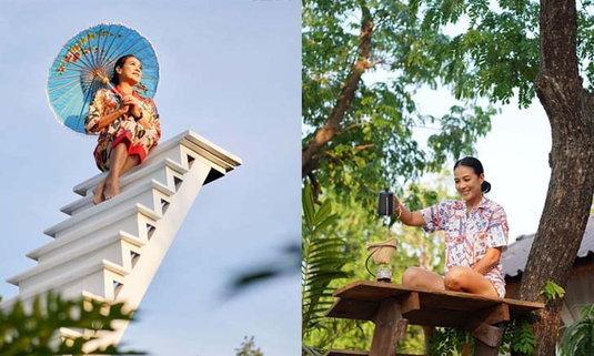 กบ ปภัสรา เปิดบ้านเป็นแหล่งท่องเที่ยว พร้อมมุมถ่ายรูปสุดปัง! @สุพรรณบุรี