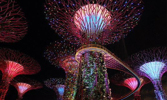 """6 กิจกรรม """"0"""" เหรียญ ไม่เสียเงินใน Gardens by the Bay – สิงคโปร์"""