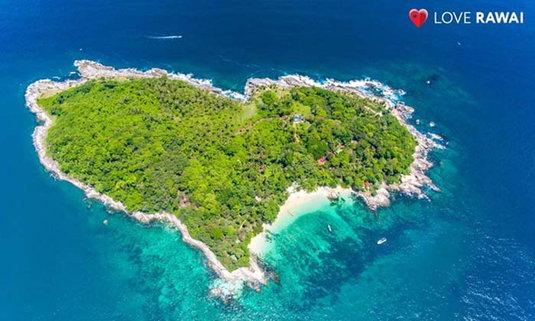 Unseen เมืองไทย!! เกาะแก้วแห่งราไวย์ เกาะรูปหัวใจกลางทะเลอันดามัน