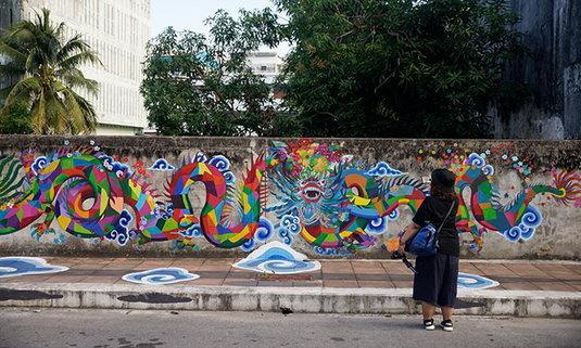 เดินเที่ยว Street Art เมืองปัตตานี