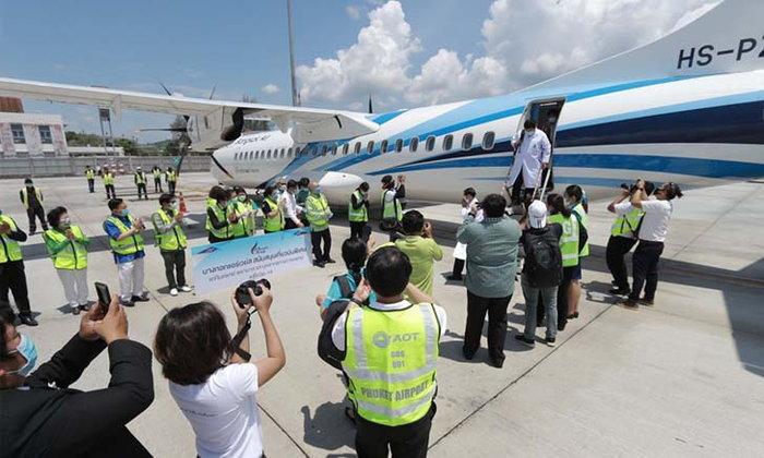 Bangkok Airways เปิดเส้นทางพิเศษ (หาดใหญ่-ภูเก็ต) ช่วยบุคลากรทางการแพทย์สู้ COVID-19