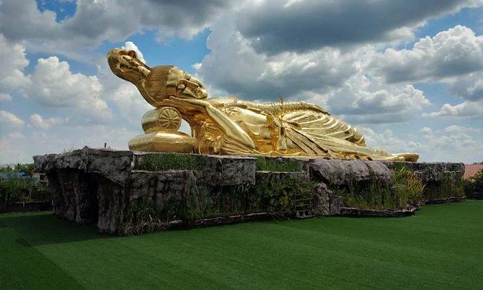 พระแม่กวนอิมปางเสวยสุของค์ใหญ่ที่สุดในโลก จังหวัดนครปฐม