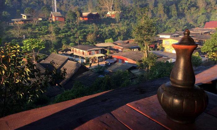 ห้วยน้ำกืน ต้นแบบหมู่บ้านในอุทยานฯ