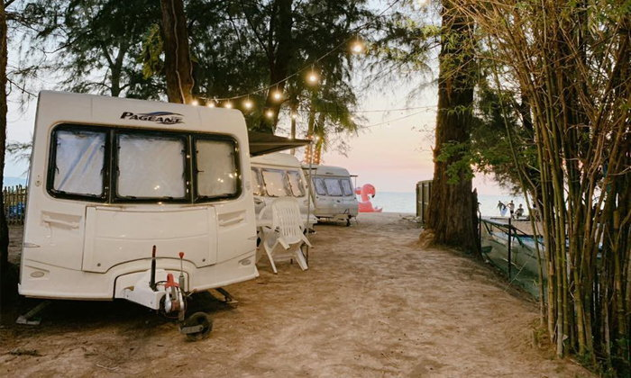 รีวิว Tutu Beach เปิดประสบการณ์นอนรถบ้านริมชายหาดพัทยาแบบสุดฟิน