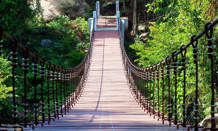 สะพานแขวนตาดโตน จุดเช็กอินแห่งใหม่น่าไปถ่ายรูป