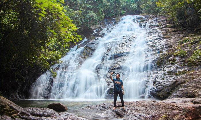 น้ำตกโตนไพร สวรรค์กลางป่าเมืองพังงา