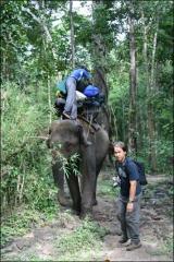 พี่แจ๊ค กับช้างที่แบกสัมภาระ