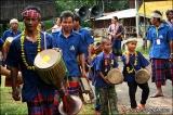 วงดนตรีพื้นบ้านของหมู่บ้านซะซอม