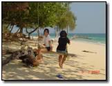 ตรัง : เกาะกระดาน | ตรัง เกาะกระดานbrภาพนี้ถ่ายเช้า ก่อนที่จะกลับครับ  กับชิงช้าหน้าเกาะ เชื่อว่าใ