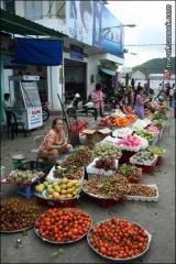 ตลาดในเมืองวุงเตา เวียตนาม