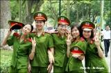 นักศึกษาวิชาทหาร ในเมืองฮานอย