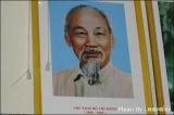 ภาพท่านโฮจิมินห์ นักปฏิวัติชาวเวียดนาม