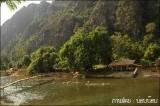 เล่นน้ำฉ่ำชื่นใจในสายน้ำซอง เมืองวังเวียง