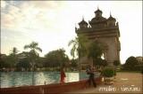 ประตูชัย ที่เมืองเวียงจันทน์