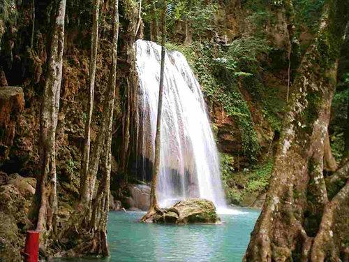 น้ำตกเอราวัณ ที่เที่ยวกาญจนบุรี