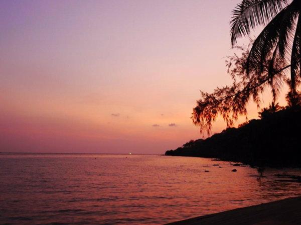 พระอาทิตย์ตกดิน ที่เกาะกูด