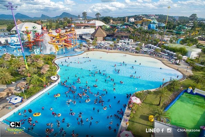 สวนน้ำ Cartoon Network Amazone