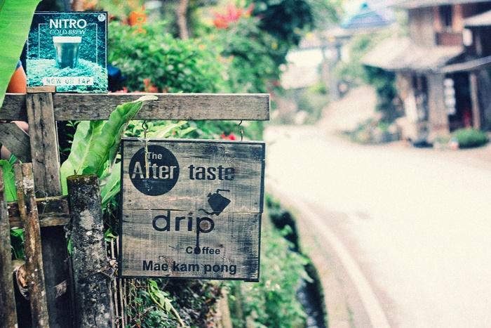 ร้านคาเฟ่แม่กำปอง The Aftertaste Drip Coffee
