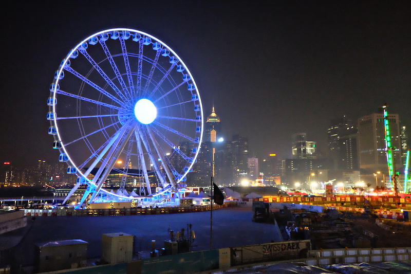 4. Hong Kong Observation Wheel