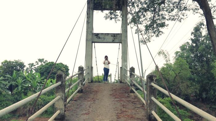 สะพานแขวนเกาะเทโพ ที่เที่ยวอุทัยธานี