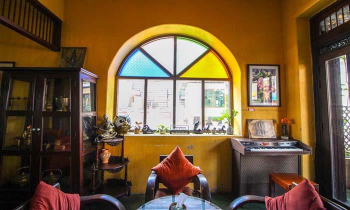 บ้านสิทธิสังข์ คาเฟ่สุด Vintage ในย่านเมืองเก่าปากแพรก กาญจนบุรี