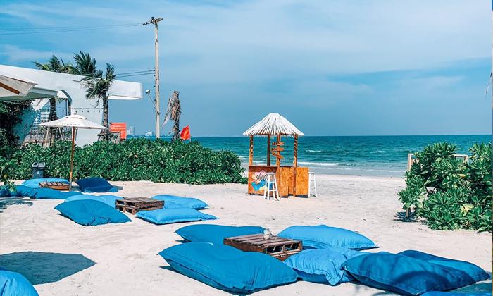 "Skoop Beach Cafe"" คาเฟ่สุดชิคบนชายหาดหัวหิน"