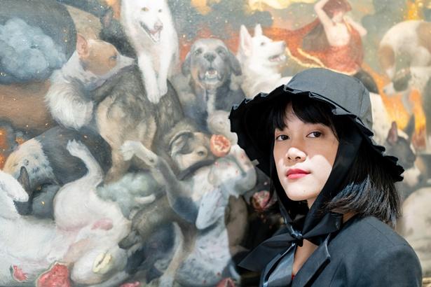 ปัณฑิตา มีบุญสบาย ศิลปินเจ้าของผลงาน A Woman Powers