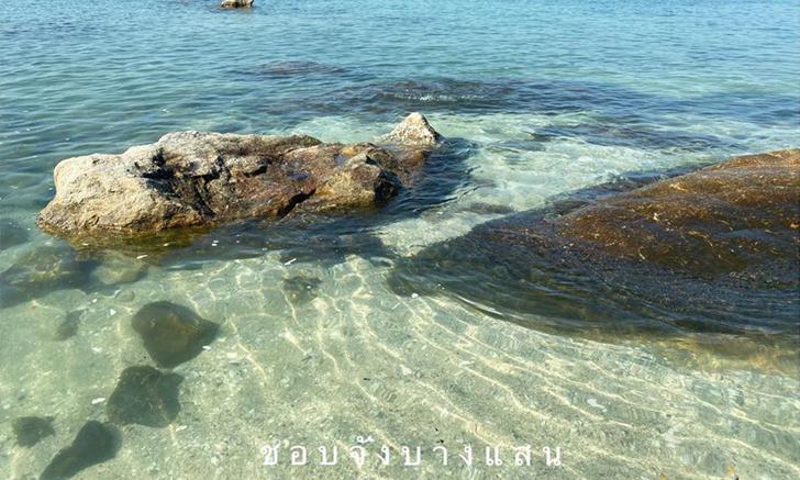 อัปเดตความสวยน้ำทะเลบางแสน ในช่วงนี้ใสราวกับกระจก!!!