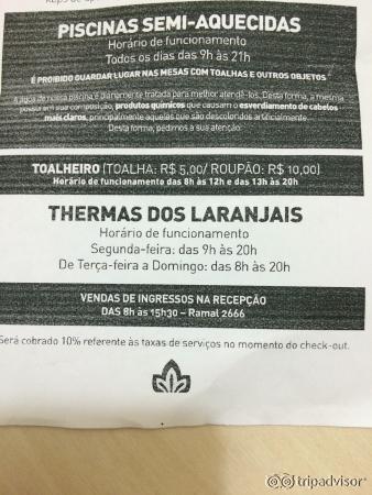 รวมรูปภาพของ Thermas dos Laranjais (Olimpia, บราซิล) รูปที่