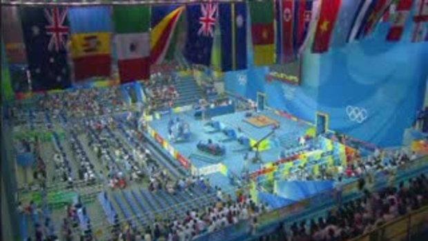 เหรียญทองโอลิมปิก2008แรกของไทย