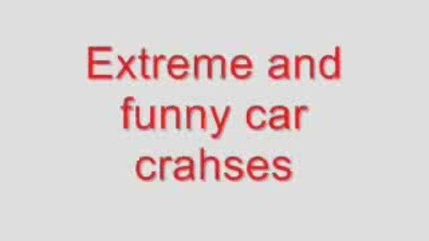 รวมภาพ อุบัติเหตุ รถยนต์ ชนแปลกๆ