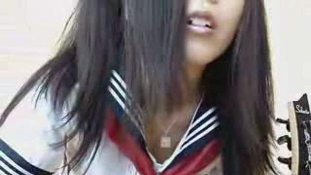 เด็กผู้หญิงญี่ปุ่นโชว์เด็ดๆ