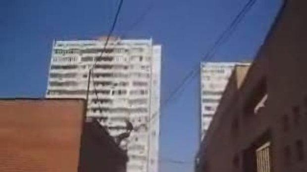 โดดข้ามตึก