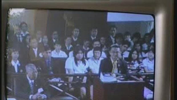 สมัคร ชี้แจง ศาลรัฐธรรมนูญ คดีชิมไปบ่นไป 1