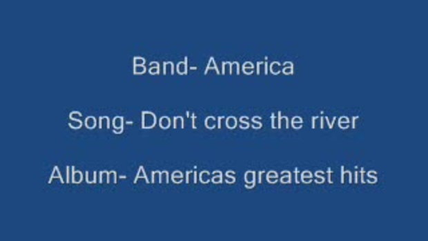Don't Cross The River .