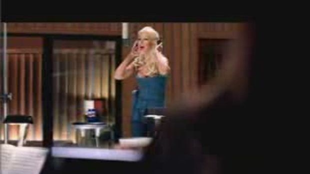 Christina Aguilera - Here To Stay (Pepsi Commercia