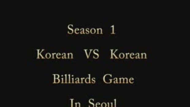 Billiards Game Season 1 : Korean vs Korean:Game 1