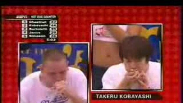 แข่งกินฮอตด็อก ชิงแชมป์โลก